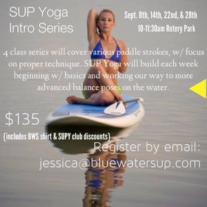 SUP Yoga Intro Series