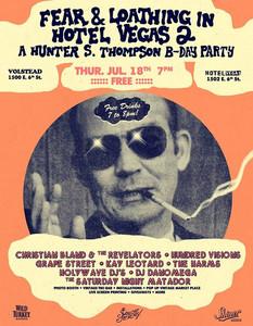 Hunter S. Thompson Birthday Party