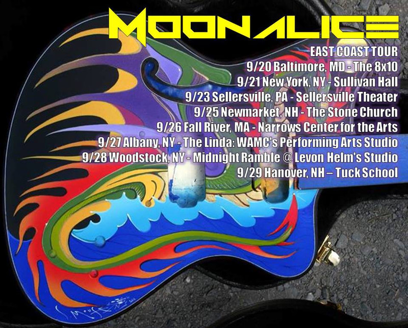 FlyersUp! Moonalice East Coast Tour at The 8x10, Baltimore