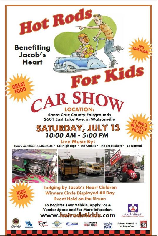 FlyersUp Hot Rods For Kids At Santa Cruz County Fairgrounds - Kids car show