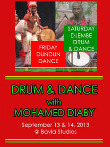 Dance & Drum Weekend