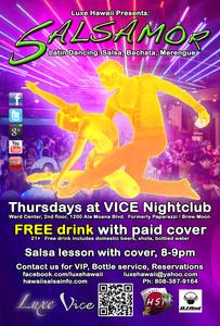 SALSAMOR! Vice Nightclub - Salsa, Bachata, Merengue