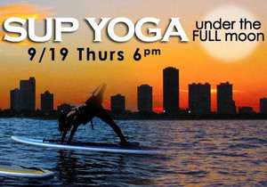 Full Moon SUP Yoga