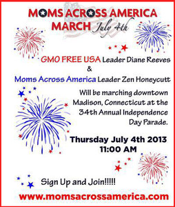 Moms Across America March to Label GMO