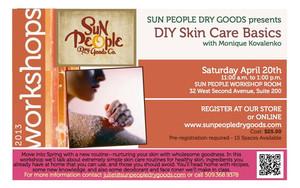 Skin Care DIY Workshop
