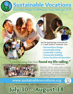 Sustainable Vocations