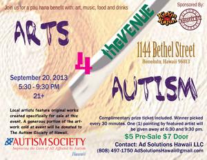 Arts 4 Autism fundraiser