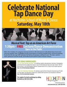 Musical Feet Tap Dance