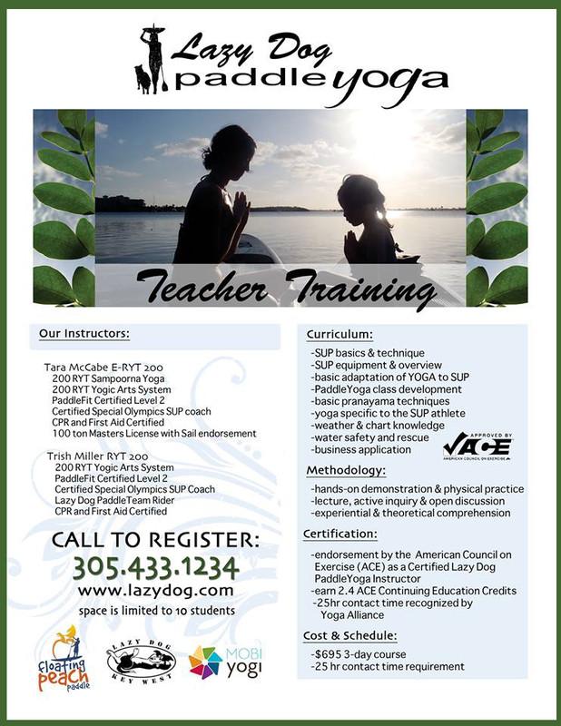 Flyersup Sup Yoga Teacher Training At Sandy Creek Park Athens
