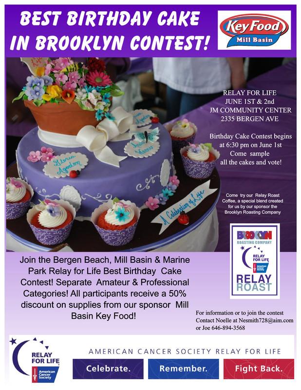 Flyersup Best Birthday Cake In Brooklyn Contest At Jm Community