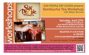 Kombucha Tea Workshop