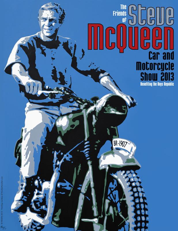 FlyersUp The Friends Of Steve McQueen Car Show At Boys Republic - Chino hills car show