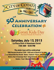 Cotati's 50th Anniversary Festival