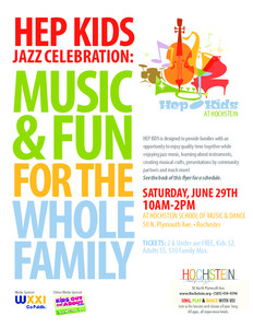 HEP KIDS Family Jazz & Fun