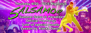 Summer Salsa in Paradise Official Pre Party