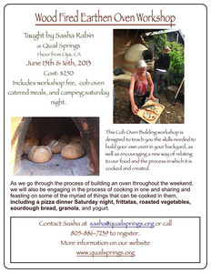 Earthen Oven Workshop