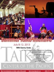Summer Taiko Intensives