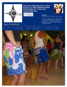 Ori Fetia Tahitian Dance