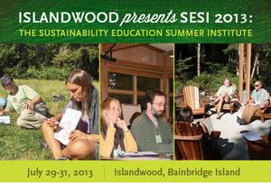 Sustainability Education Summer Institute