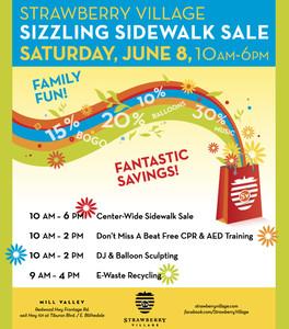 Sizzling Sidewalk Sale
