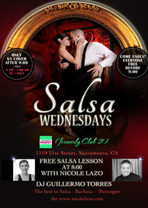 Salsa Wednesdays