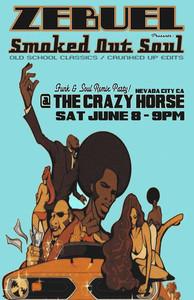 Zebuel at Crazy Horse Sat Jun 8th 9pm-2am