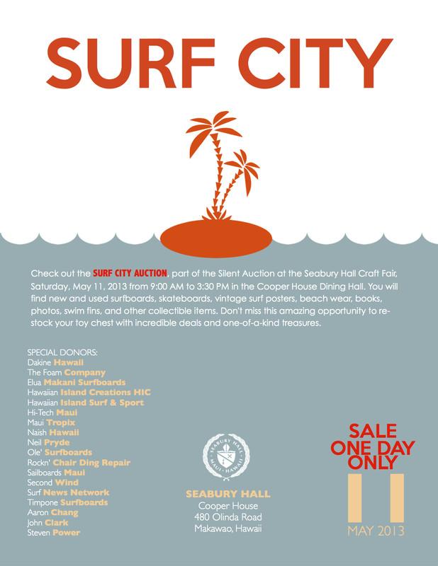 FlyersUp! Surf City Auction at Seabury Hall, Makawao, Maui, HI
