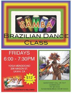 Brazilian Dance Class