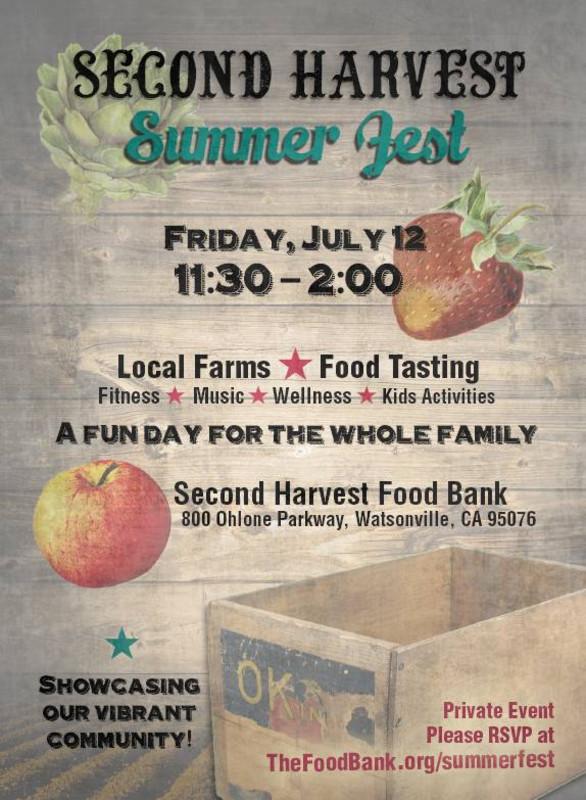 Second Harvest Food Bank Watsonville Ca