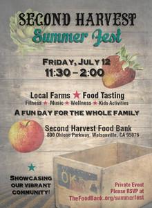 Second Harvest Summer Fest