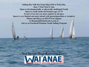 Wai'anae Youth Sailing Day