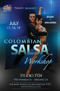Colombian Salsa Workshop