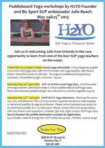 SUP Yoga Workshops