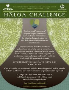 Hāloa Challenge