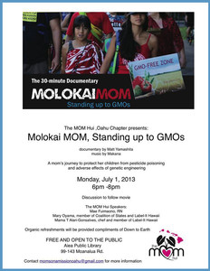 Molokai Mom Stands Up To GMOs