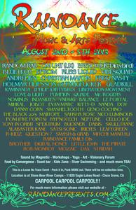 Raindance Music & Arts Festival