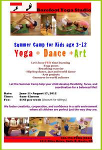Kids Summer Yoga Courses