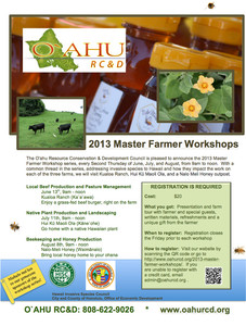 Master Farmer Workshops