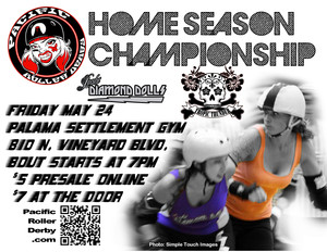 Pacific Roller Derby Home Championship